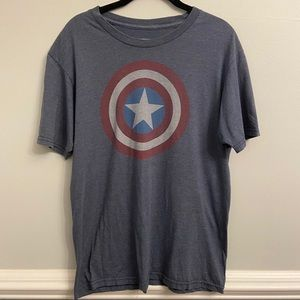 Marvel Captain America Graphic Tee Shirt